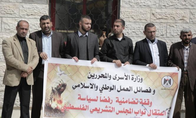 الاحتلال اعتقل قرابة 70 نائبا فلسطينيا منذ عام 2002