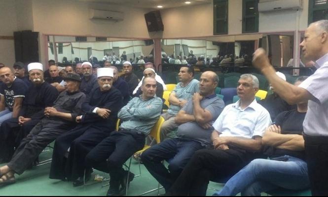 يركا: اجتماع لمواجهة مخطط مصادرة أراضي مران