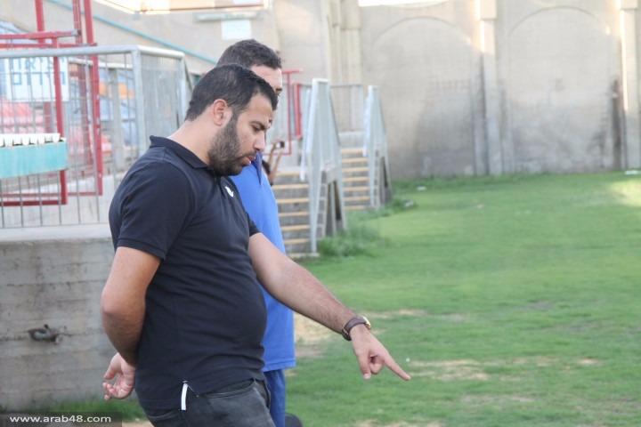 أخاء الناصرة يشرع بتدريباته ويحدد أهدافه للموسم المقبل