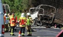 مصرع 18 سائحا وعشرات الجرحى بحادث سير بألمانيا