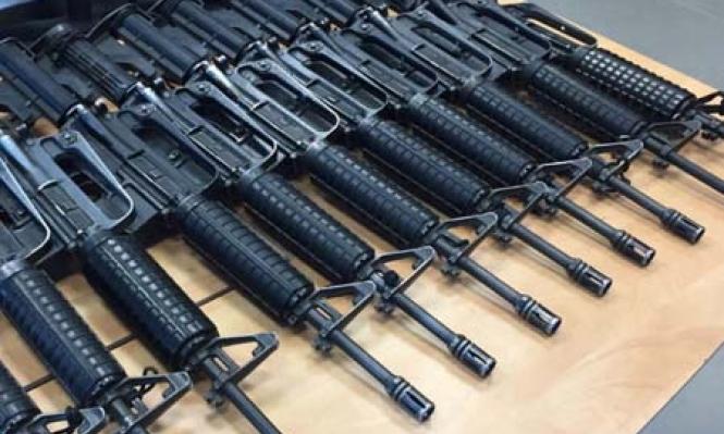 اعتقال 6 مشتبهين بسرقة أسلحة من معسكر للجيش بالنقب
