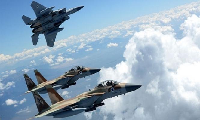 سلاح الجو الإسرائيلي يوقف تدريباته بسبب حدث أمني