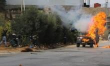 السجن 18 عاما لشاب فلسطيني استهدف مستوطنين بزجاجة حارقة