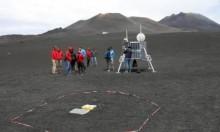 روبوتات استكشاف القمر في جبل إتنا في صقلية تخضع للاختبارات