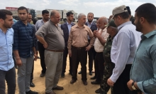 قيادة حماس بغزة تتفقد المنطقة العازلة مع مصر