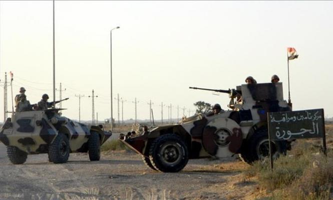 مقتل 26 مسلحا بنيران الجيش المصري بسيناء