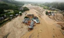 اليابان: ارتفاع حصيلة ضحايا الفيضانات المدمرة إلى 15 (صور)