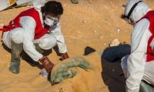 """الصحراء الليبية: """"فريق إدارة الجثث"""" يعثر على 19 جثة لمهاجرين مصريين"""