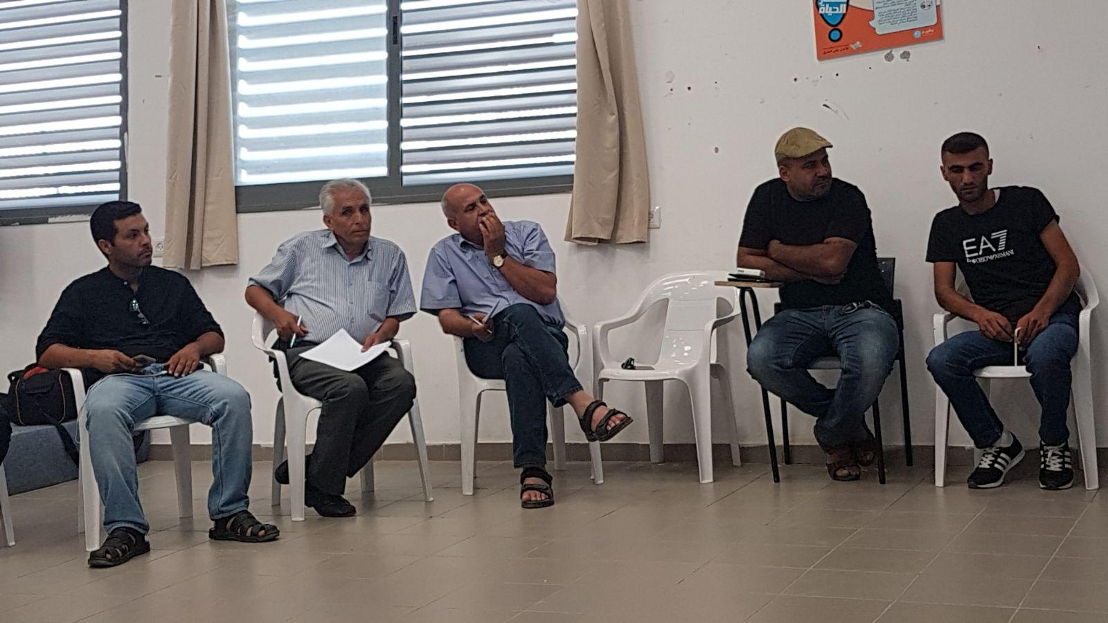 النقب: لجنة التوجيه تدعو لمظاهرة حاشدة ضد الانتهاكات بالنقب