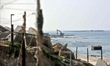 نصف شاطئ غزة ملوث بسبب أزمة الكهرباء