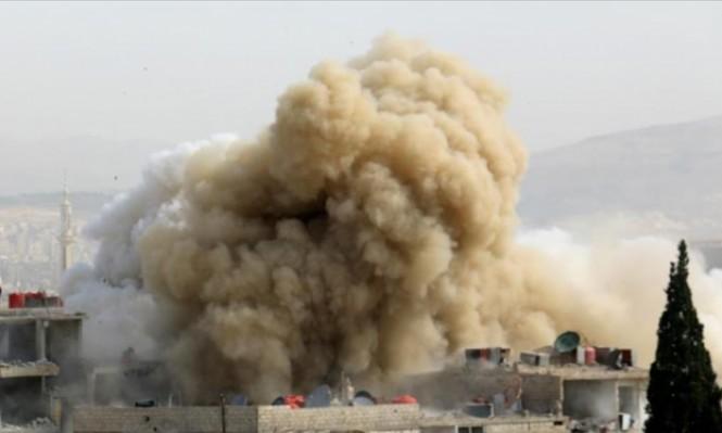 النظام السوري يلقي 4 آلاف برميل متفجر خلال نصف عام