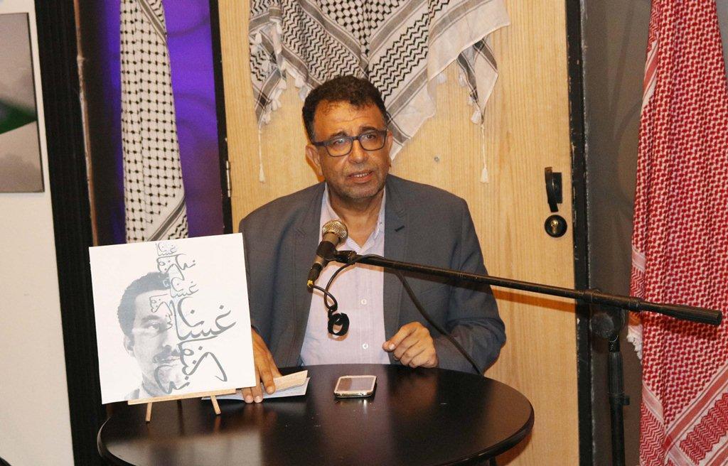 إحياء ذكرى استشهاد غسان كنفاني في ملتقى محمود درويش في صيدا