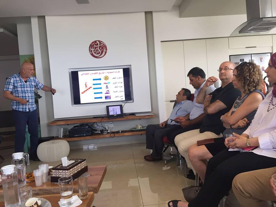 """اجتماع تأسيسي لطاقم """"التقنية العالية"""" في مؤتمر القدرات البشرية"""