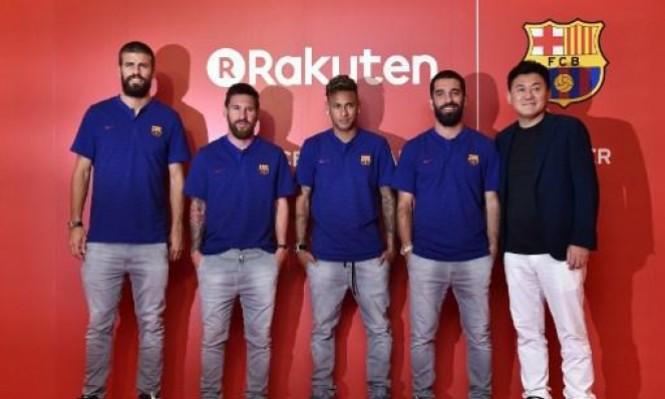 ضغوط كبيرة على برشلونة بسبب راعيها الجديد
