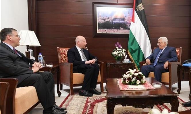 عباس يجتمع بمبعوث ترامب قبيل الإعلان عن استئناف المفاوضات