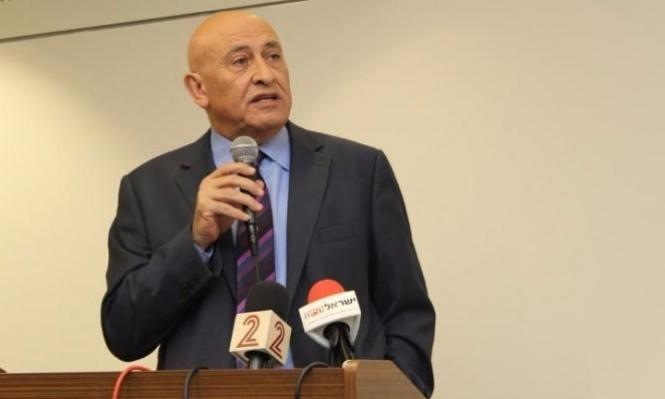 إلكين يطلب من رئيس الكنيست بدء إجراءات لإقصاء النائب غطاس