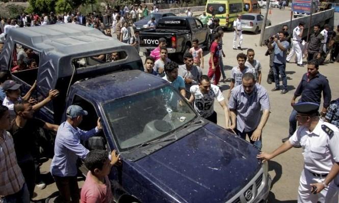 مصر: مقتل 5 من رجال الشرطة في هجوم بالقرب من القاهرة