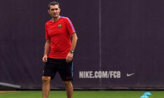 إصابة لاعب برشلونة تضع فالفيردي في حيرة