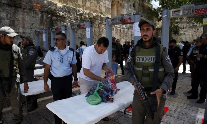 القدس: رفض استنساخ إجراءات الحرم الإبراهيمي في الأقصى