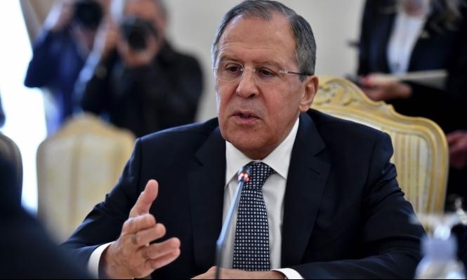 لافروف: نهتم بمصالح إسرائيل بجنوب سورية