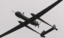 سقوط طائرة بدون طيار في نابلس