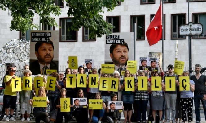 حبس مديرة منظمة العفو الدولية في تركيا