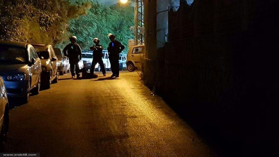 الشرطة تقتحم مسجد الفاروق بأم الفحم وتنفذ اعتقالات