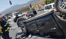إصابتان في حادث طرق قرب المغار