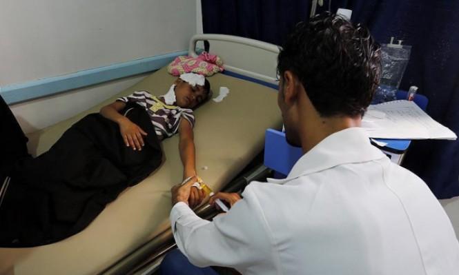 علاج أكثر من 45 ألف مصاب بالكوليرا في اليمن