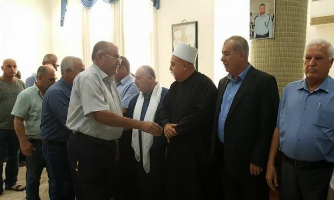 لجنة المبادرة العربية الدرزية تشيد بزيارة التعزية وتدعم تصريحات بركة وطه