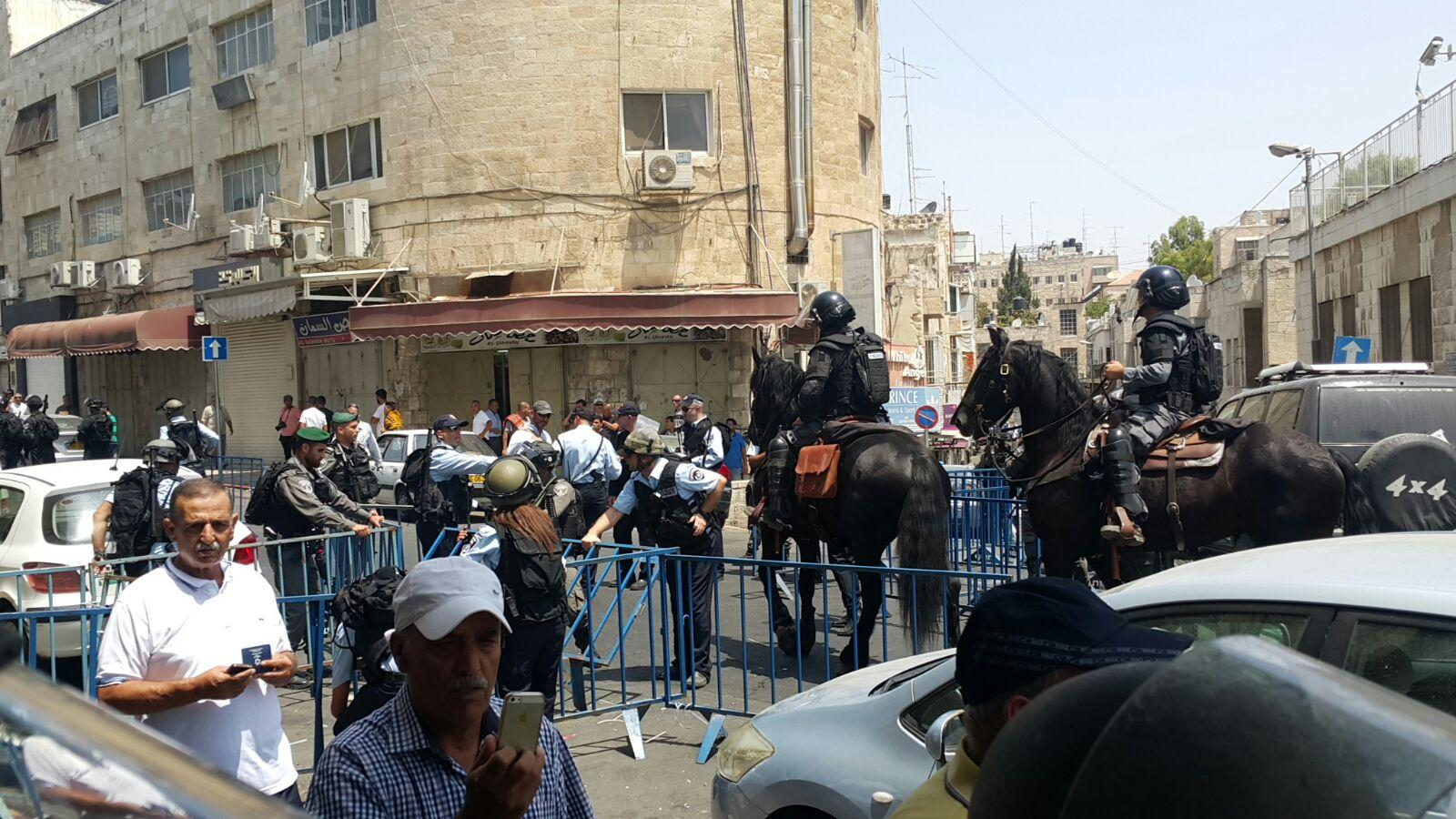 إصابات خلال المواجهات بعد انتهاء صلاة الجمعة بالقدس المحتلة