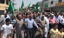 كفر قرع: المئات يشاركون في مسيرة احتجاجية نصرة للأقصى
