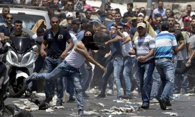 المقدسيون يعلنون: #لا_أنصاف_حلول... رفضا لاجراءات الاحتلال