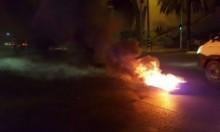 اعتقال 3 قاصرين في الطيبة بشبهة إلقاء الحجارة وإحراق الإطارات