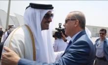 إردوغان يختتم جولته الخليجية بمباحثات مع أمير قطر