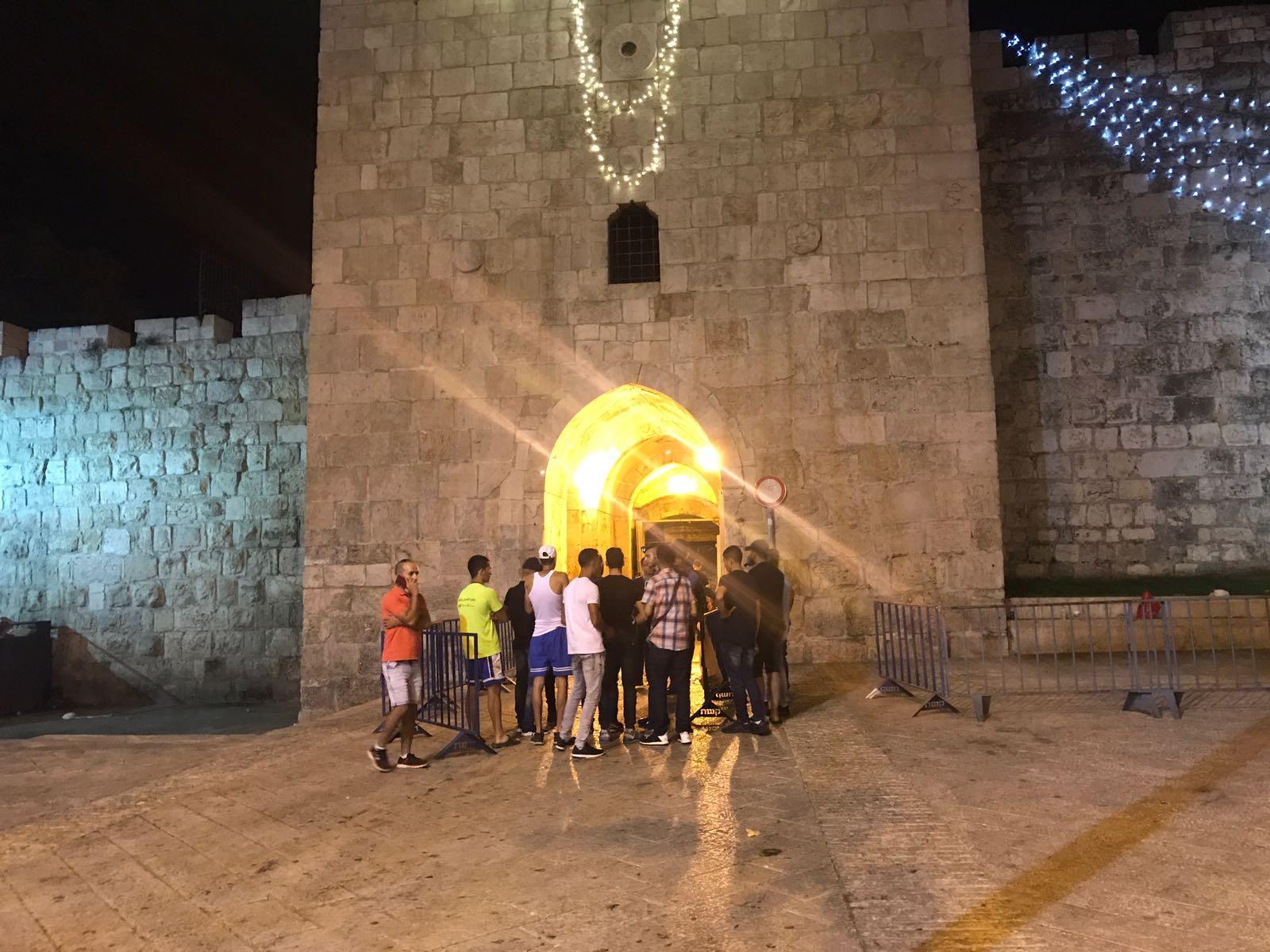 مواجهات مع الاحتلال في باب الأسباط والمرجعيات المقدسية تعقد جلسة طارئة