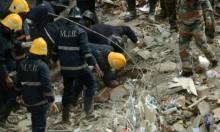 الهند: ارتفاع حصيلة ضحايا انهيار مبنى بومباي إلى 17