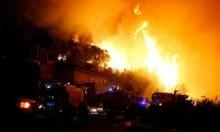 فرنسا: إجلاء أكثر من 10 آلاف شخص بسبب الحرائق
