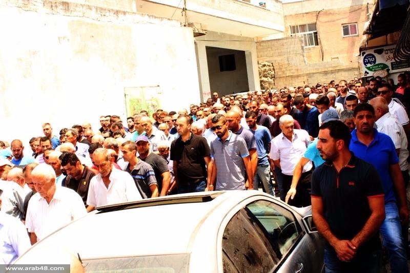 عرابة: تشييع جثمان طالب الطب عماد ياسين