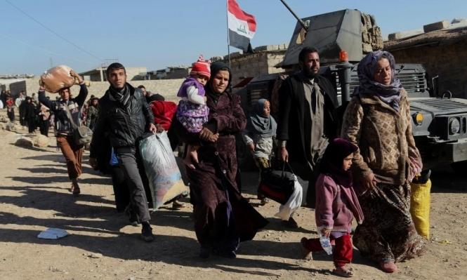 أكثر من 830 ألف نازح لا يزالون عالقين خارج الموصل