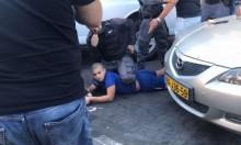 يافا: الشرطة تعتقل شابين بالقوة لرفضهما التفتيش بالشارع