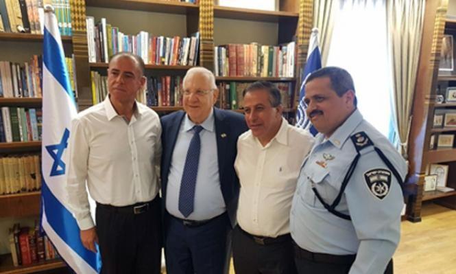 ريفلين وألشيخ يجتمعان مع رؤساء سلطات محلية عربية الأربعاء