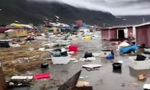 تسونامي ضرب غرينلاند وصل إلى ارتفاع 90 مترا