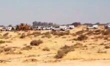 النقب: جرافات الهدم تقتحم قرية بير هداج