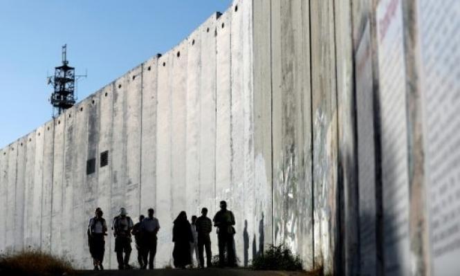 الاحتلال يعلن انتهاء بناء 42 كلم من الجدار بجنوب الضفة