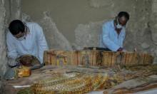 القبض على مصري بحوزته قطع فرعونية عثر عليها أسفل منزله