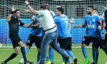 """""""طوشة"""" في نهائي كأس البطولة العربية للأندية"""