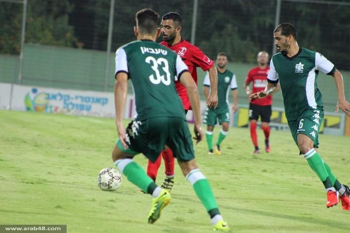 أخاء الناصرة يحقق فوزه الثاني في كأس التوتو