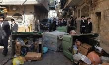 القدس: مواجهات بسبب زيارة ليبرمان لحي للحريديم