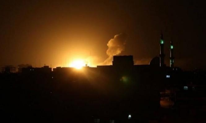 الاحتلال يقصف شمالي قطاع غزة بذريعة الرد على إطلاق صاروخ